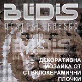 BLiDiS Декоративна Стъклокеранична Мозайка